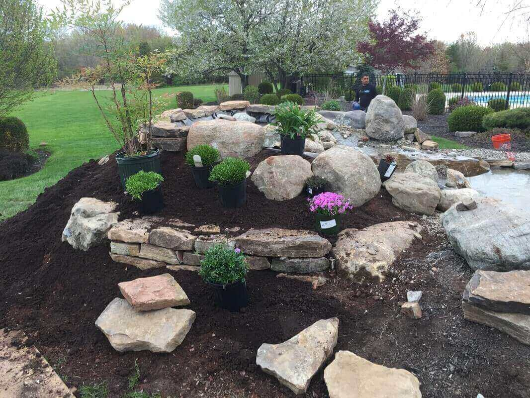 Pond Rebuild & Bog Installation, Franklin, NJ