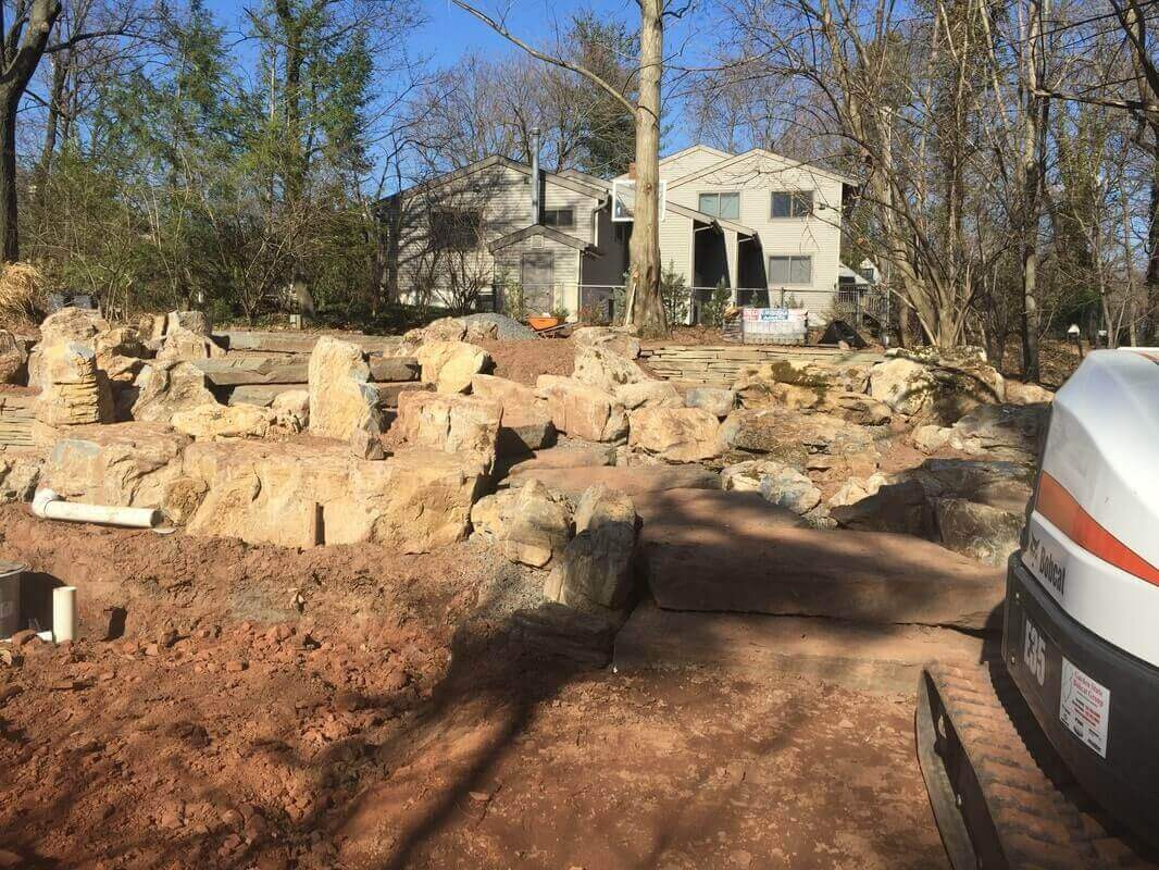 Complete Yard Renovation in Highland Park, NJ