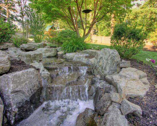 Bubbling rocks inspiration