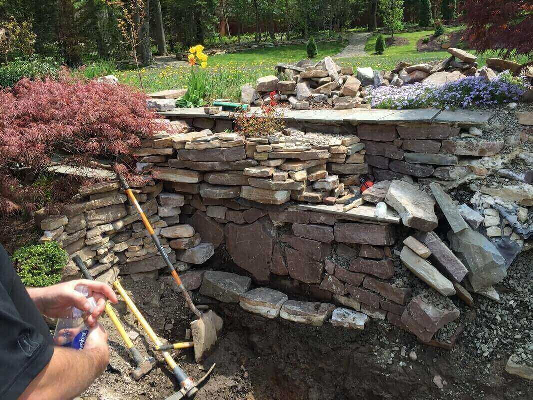 Waterfall Rebuild, Stirling, NJ