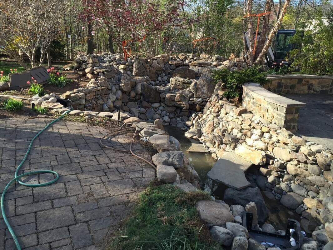 Pond & Bog Rebuild, Basking Ridge, NJ