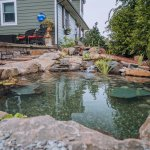 Pond and Waterfall Build, Branchburg, NJ