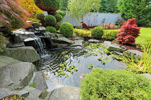 How To Use Rocks For Your Pond Construction