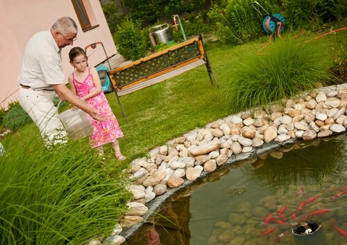 Keeping Children Safe Around Your Pond