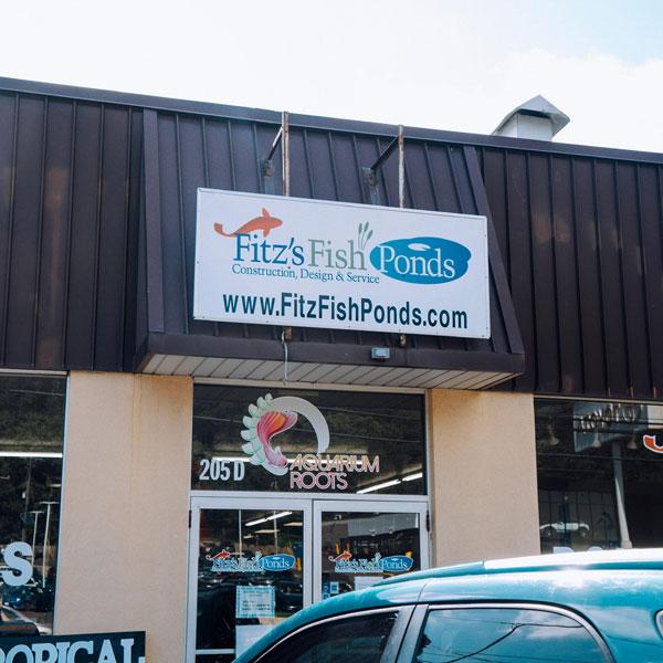 Fitzsfish pond store